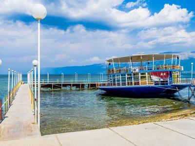 Lago di Ohrid, Pogradec