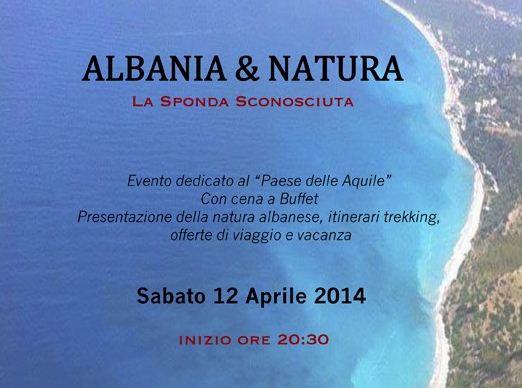 """Presentazione """"Albania e Natura"""""""