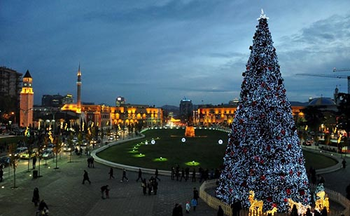 Capodanno in Albania Tirana, la capitale dei giovani